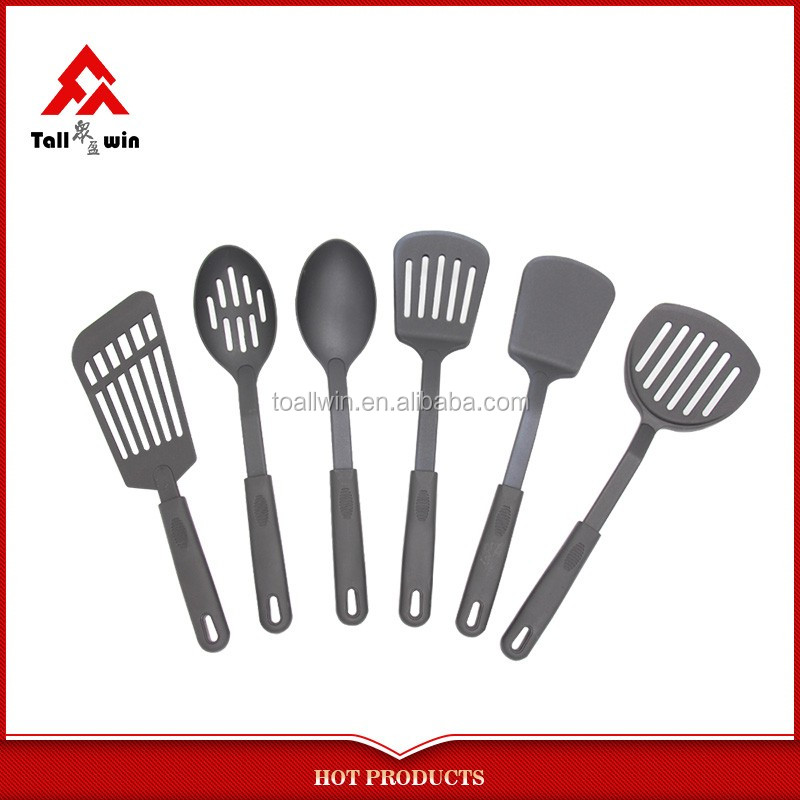 Says white nylon utensil set