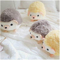 Dropshipping Cute Cartoon Plush Hedgehog Dolls Soft Cotton Stuffed Lovely Hedgehog Plush Toys Birthday Gifts for Kids