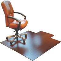 Commercial Small Chair Mats For Carpet Bamboo Floor Mats For Office
