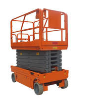 12m Battery Powered Self Propelled Scissor Lift Electric Man Lift Platform Auto Hydraulic Lift for Painting