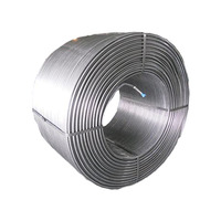 Hot Sale in India CaSi Alloy , Calsium Silicon Cored Wire from China