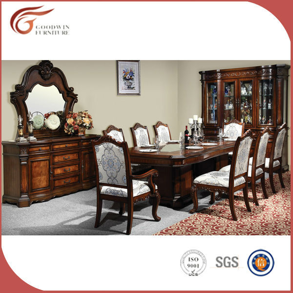 luxe antique salle manger set de table pas cher bois salle manger ensemble lots de salle. Black Bedroom Furniture Sets. Home Design Ideas