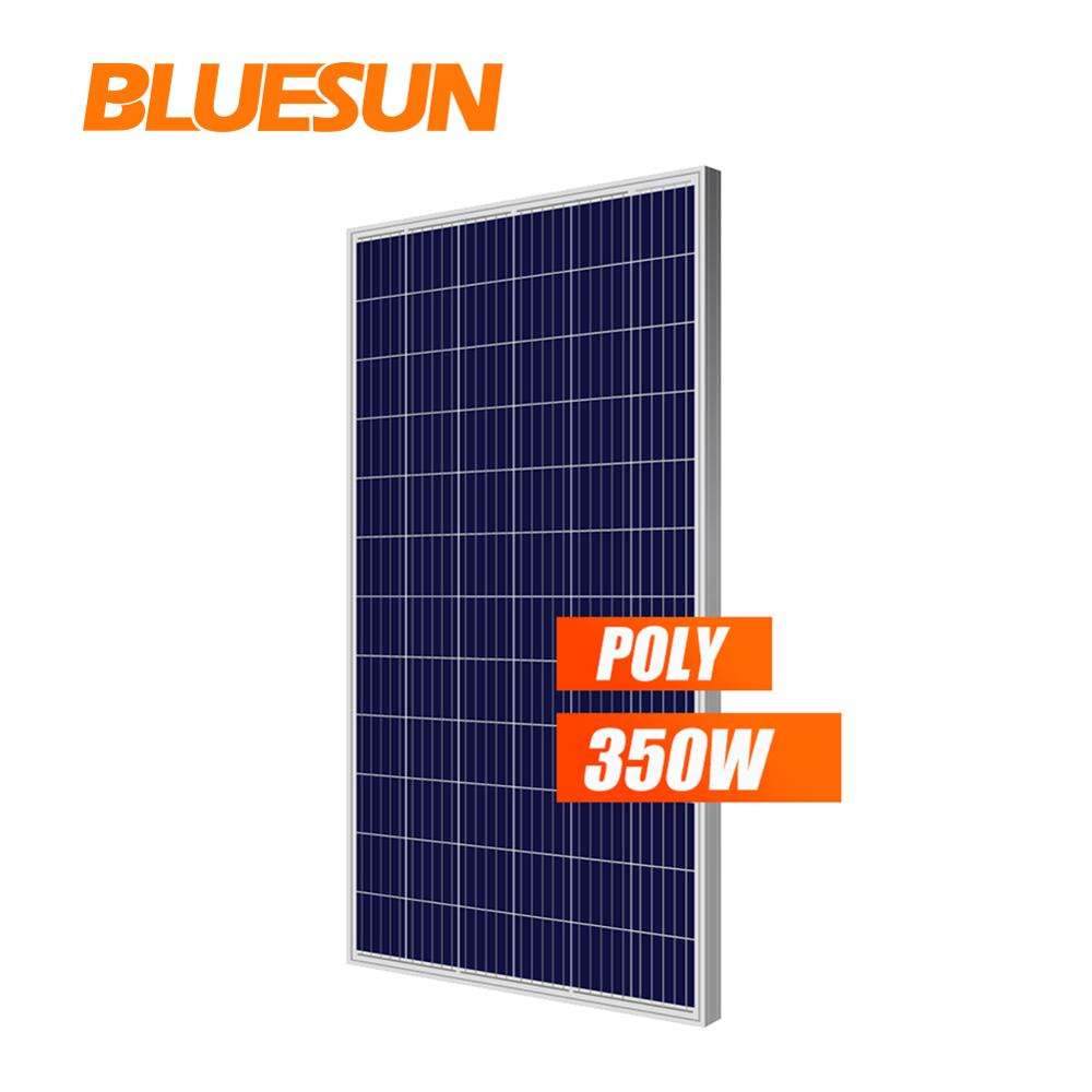 Bluesun Best Solar Panels Price 330W 340w 350W Solar Panel <strong>Poly</strong> 72 cells Painel Solar