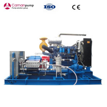 high pressure hydro-jet cleaning machine/ water washer/ water blaster triplex plunger pump