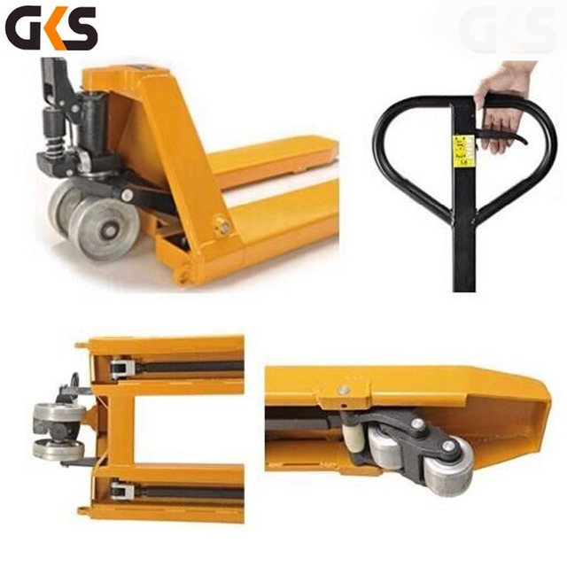 high quality 1 ton hydraulic hand pallet truck pallet wheels