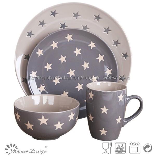 hot 2016 vaisselle en c ramique mug tasse en gr s avec la conception de coeur poign e c ramique. Black Bedroom Furniture Sets. Home Design Ideas