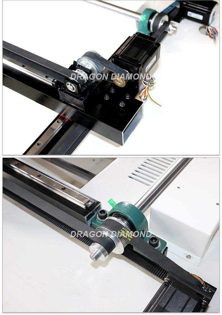 600mm*400mm xy stages laser cutter kit for diy laser co2 lz-6040