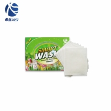 Clothes washing power condensed hotel laundry detergent sheets