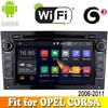 Aosin android 4.4.4 system car dvd gps navigation fit for OPEL CORSA 2006 - 2011 with radio bluetooth wifi support 3G