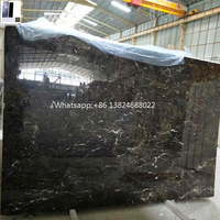Alibaba Black Marble and Nero Marquina stone Emperador with white veins Foshan price