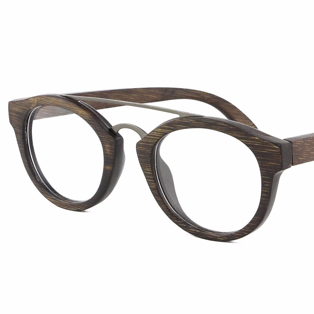 2018 Bambú De Madera Gafas Marco Italia Diseñador Señora - Buy Gafas ...