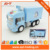 Inertial truck large ice truck refrigeration truck van semi open to children toy car