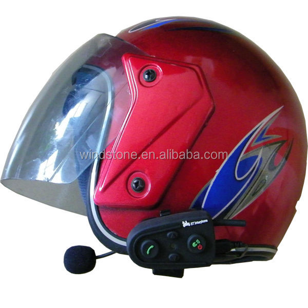 Motorcycle Helmet Communication Bluetooth Handsfree Headset