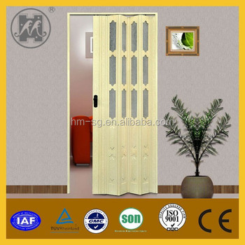 Modern House Design Pvc Plastic Interior Door Pricepvc Sliding Door