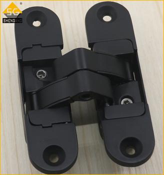 180 degree open 3d adjustment concealed wood door hinge for 180 hinge door