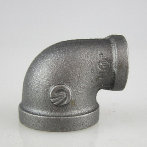 Hot Dipped Galvanized Malleable Cast Iron Pipe Fitting Elbow 90 degree threaded