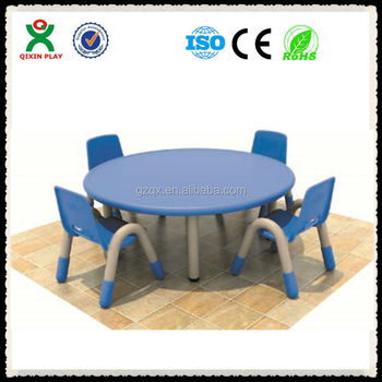 bright color round table discount school supplies kindergarten