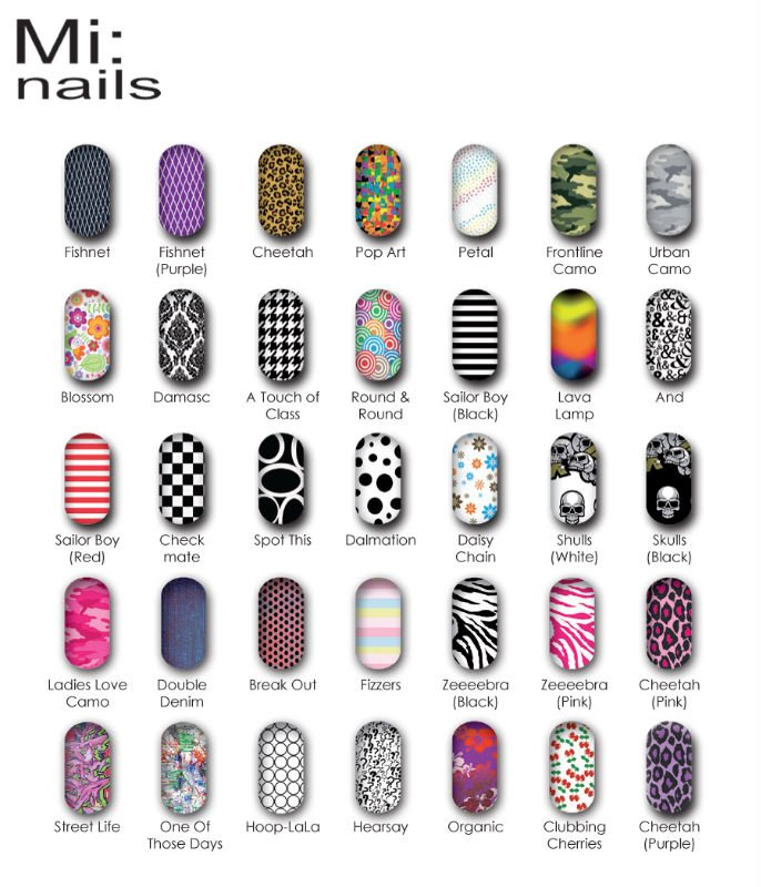 Mi Nails Nail Wrap By Jinx Inc Art Vinyl Wraps Product On Alibaba