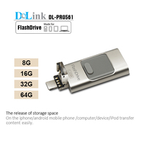 Wholesale Factory Price Real Capacity OTG iFlash Drive, Mobile phone custom OTG Usb Flash For iPhone