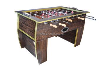Hardwood Soccer Table,5 Feet Foosball Table,Solid Steal Rod Football Table  Plywood,