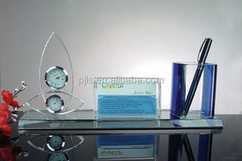 Crystal business card holderpen holderoffice decoration buy crystal business card holder pen holder office decoration colourmoves