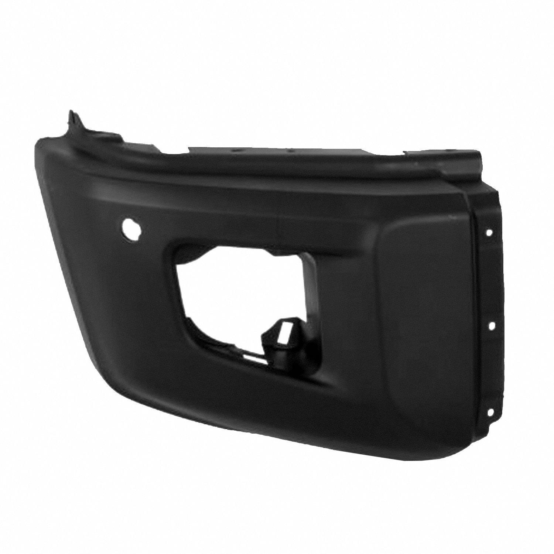 Crash Parts Plus Crash Parts Plus Front Black Bumper Extension Outer for 2014-2016 Toyota Tundra