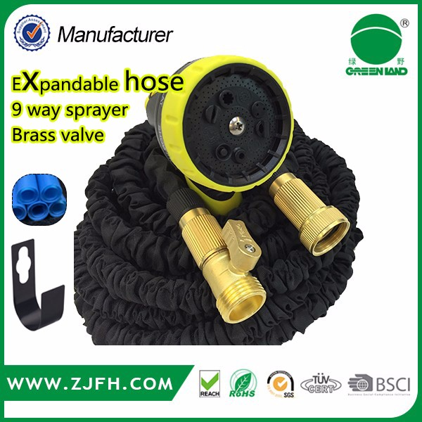 FREE SAMPLE 50 Ft Flexible Expandable Garden, Sprinkler & Car Water Hose