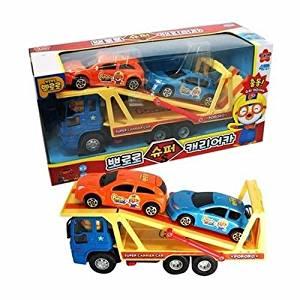 Pororo Super Carrier Car Toy Korean TV Animation - Friction Powered Car /ITEM#G839GJ UY-W8EHF3170100