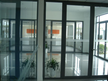 Home Office Partition Glass Curtain Wall System