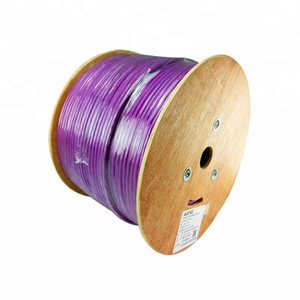Double shielded twisted 4 pair Cat7 cable