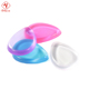 New arrival fashion beauty products water droplets silicone gel beauty makeup blender silicon wash powder puff for labeling