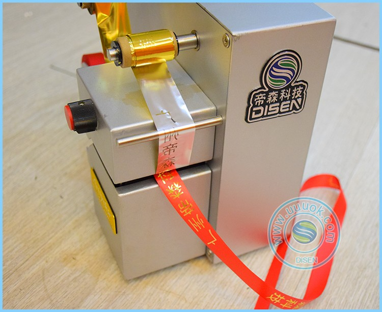 Automatic digital printing golden 320 satin ribbon printer machine sale
