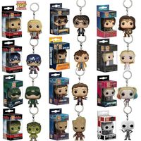 2020 hot sales Hero Pocket Pop PVC Keychain Rocked Vinyl Figure Keyring BD325