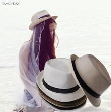 Moderní dámský klobouk v různých barvách z Aliexpress