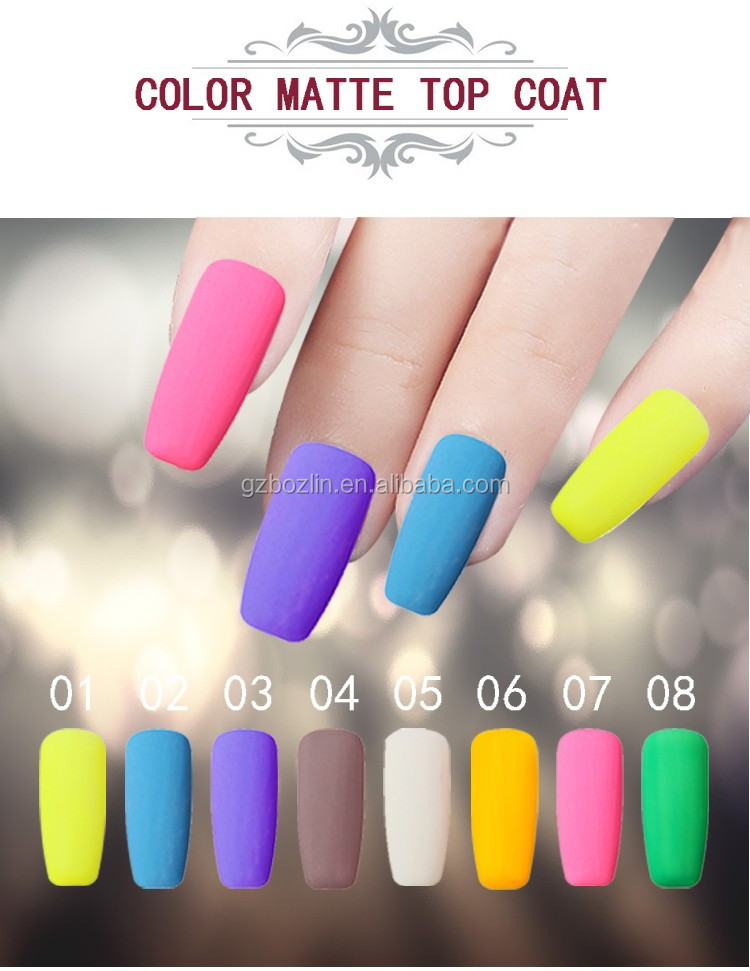 Matte Color Nail Polish, Matte Color Nail Polish Suppliers and ...