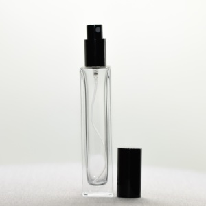 100ml glass spray bottle private label rectangular perfume generic transparent pump sprayer bottle wholesale
