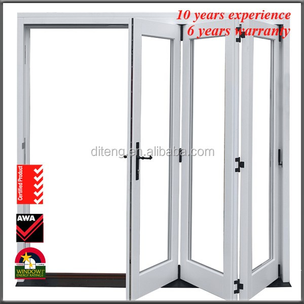 Double Aluminum Rolling Shutter Patio Doors