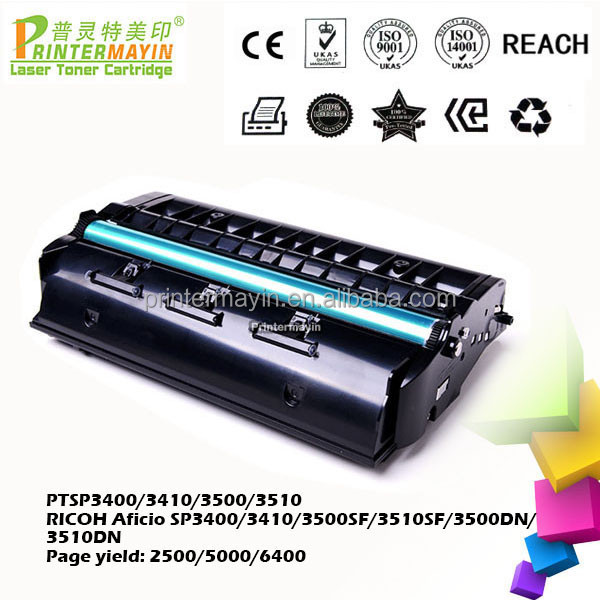 SP3510 Toner Cartridge for RICOH Aficio SP3400/3410/3500SF/3510SF/3500DN/3510DN (PTSP3400/3410/3500/3510)