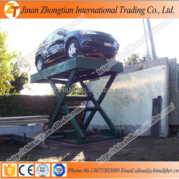 Hidraulica de tijera estacionaria plataforma ascensor for Costo del garage 24x36