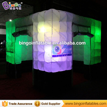 LED licht bruiloft opblaasbare sneeuwbol photo booth <span class=keywords><strong>tent</strong></span>