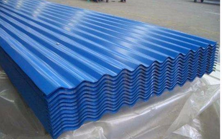 Zinc Color Coated Corrugated Metal Galvanized Roofing