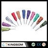Glue Dispensing Needles, disposable dispenser needle tip with all size