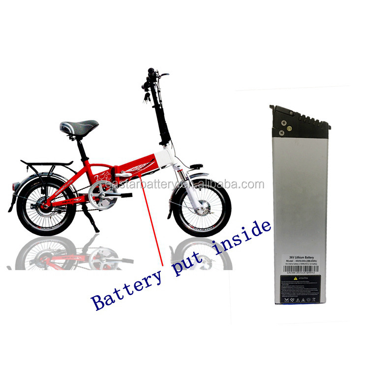 China factory 36 volt 8ah electric bicycle 36v lithium ion battery pack for ebike