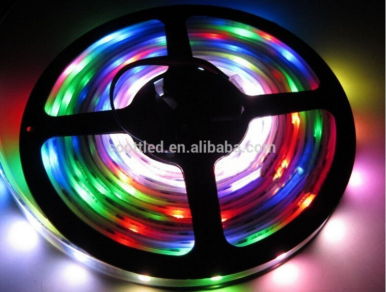 5m Color Changing Led Rope Light,Ws2801 Led Strip,One Led One Ic ...