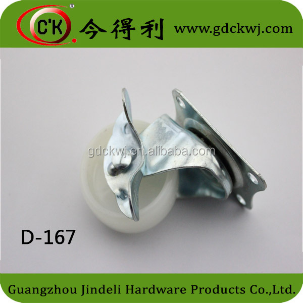 D-167 Furniture Hardware Part Office Chair Plastic Leg Locking Caster