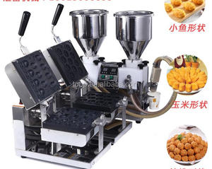 Half Automatic South Korean Walnut Cake Making and Baking Machine