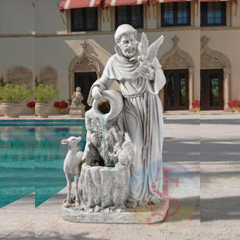 Hot Selling St Francis Of Assisi Garden Statues