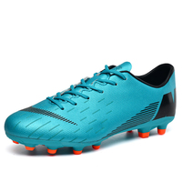 Wholesale boy soccer shoes teen student football training shoes