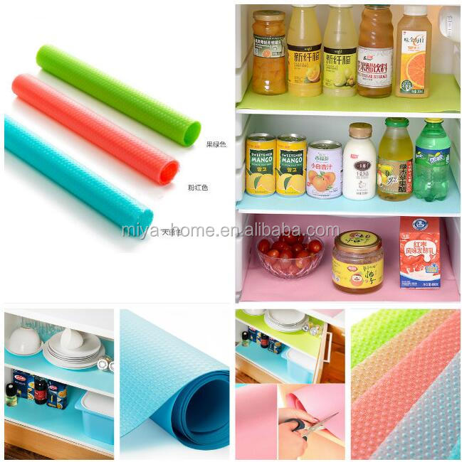 High quality non-toxic silicone fridge mat / Multifunction Refrigerator Pad Mat Fridge / Waterproof Pad Kitchen Table Eat Mats