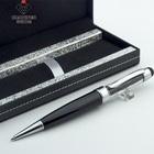 Ballpoint Pen Usb Metal Ball Promotional Metal USB Ball Pen with LOGO Printing Crystal USB Pen Set